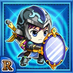 鏡盾戦士ベアドール(水属性・レアカード)
