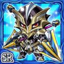 二槍騎士ザッガルム(水属性・スーパーレアカード)