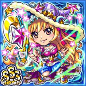 月光魔導姫ミルフィ(水属性・トリプルスーパーレアカード)