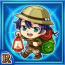 洞窟冒険家トマテ(水属性・レアカード)