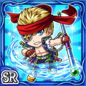 水棒闘士アリク(水属性・スーパーレアカード)