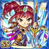 勇槍戦姫シェンナ(水属性・ダブルスーパーレアカード)