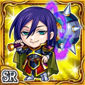 邪黒槌騎士ドニル(雷属性・スーパーレアカード)