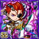 闇機剣皇ジェイン(闇属性・ダブルスーパーレアカード)