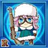 雪銃嬢アキミュ(水属性・レアカード)