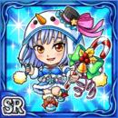 クリスマスアオイ(水属性・スーパーレアカード)