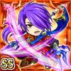 皇紫槍神ティオドル(火属性・ダブルスーパーレアカード)