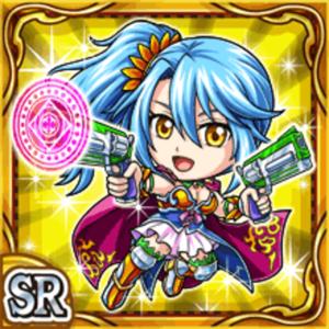 双銃姫リリンナ(雷属性・スーパーレアカード)