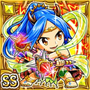 雷麗女神テーラ(雷属性・ダブルスーパーレアカード)