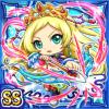 氷弓麗姫ターヤ(水属性・ダブルスーパーレアカード)