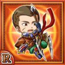 装騎兵レオニー(火属性・レアカード)