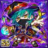 闇魔法神ドルゲオ(闇属性・ダブルスーパーレアカード)