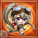 双短剣娘イポル(火属性・レアカード)