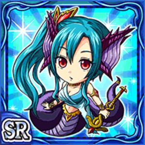 水魔蛇姫メーリュ(水属性・スーパーレアカード)