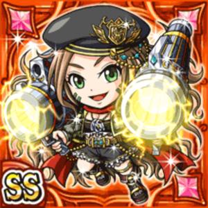 砲兵騎姫リリラン(火属性・ダブルスーパーレアカード)