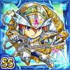 鏡聖鎧騎クスレタン(水属性・ダブルスーパーレアカード)