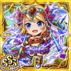 獅神聖女エアリーナ(雷属性・トリプルスーパーレアカード)