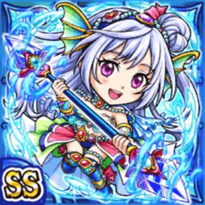 輝水神姫リュカーナ(水属性・ダブルスーパーレアカード)