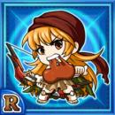 蜜弓女ルビン(水属性・レアカード)