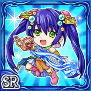 海姫舞闘カラナ(水属性・スーパーレアカード)