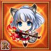 魔狸少女リッコリ(火属性・レアカード)