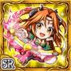 円刃舞姫カリナ(雷属性・スーパーレアカード)