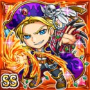 掌炎賊王フェーギル(火属性・ダブルスーパーレアカード)