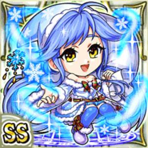 聖夜雪精シュノ(光属性・ダブルスーパーレアカード)