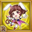 兎魔術師リジモア(雷属性・レアカード)
