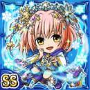絶対冬姫メイチェリ(水属性・ダブルスーパーレアカード)