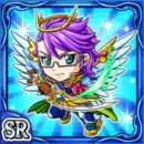 秀才天使ミキル(水属性・レアカード)