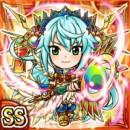 天陽女神ナシャ(火属性・ダブルスーパーレアカード)