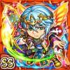 絢焔勇者ギルガル(火属性・ダブルスーパーレアカード)