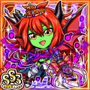 悪魔女神ザーラ(火属性・トリプルスーパーレアカード)
