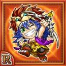 百獣少年ガルルク(火属性・レアカード)