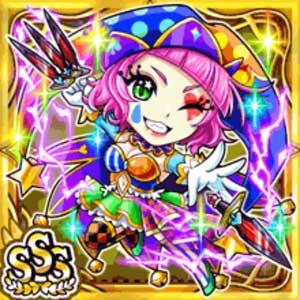 道化奇姫リディア(雷属性・トリプルスーパーレアカード)
