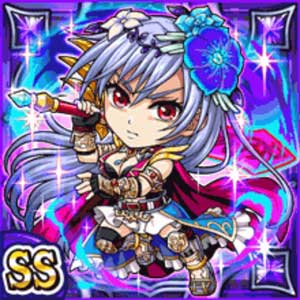 聖廃神姫リーシェ(闇属性・ダブルスーパーレアカード)