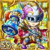 鉄槌騎姫ハーチス(雷属性・ダブルスーパーレアカード)