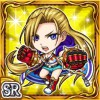 闘棘拳士リゼイナ(雷属性・スーパーレアカード)