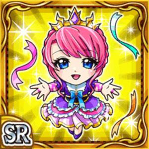 声援王女リサーリア(雷属性・スーパーレアカード)