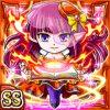 火勢導姫アサイド(火属性・ダブルスーパーレアカード)