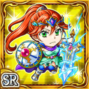 雷光剣女ティザーレ(雷属性・スーパーレアカード)