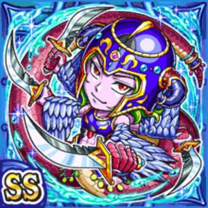 海魔剣豪ヴァレウ(水属性・ダブルスーパーレアカード)