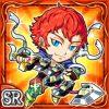 蛇剣騎ヴァイオス(火属性・スーパーレアカード)