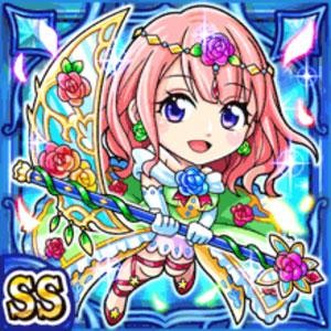 絢爛華姫メルフィ(水属性・ダブルスーパーレアカード)