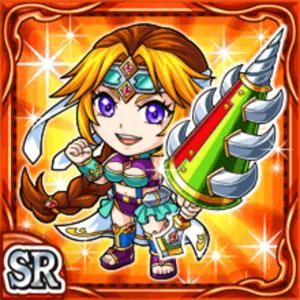 烈槍戦女バララル(火属性・スーパーレアカード)
