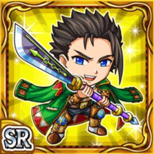 薙刀勇士ジョウザ(雷属性・スーパーレアカード)