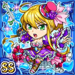 青薔薇剣姫ロザリエ(水属性・ダブルスーパーレアカード)