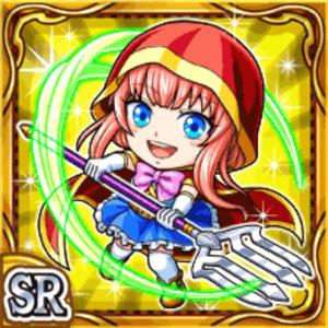 楽農舎女シール(雷属性・スーパーレアカード)