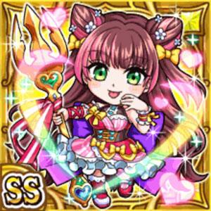 甘味華姫シュクレ(雷属性・ダブルスーパーレアカード)